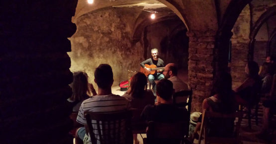 A concert in the cellar