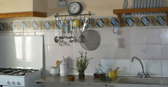 A corner of the kitchen